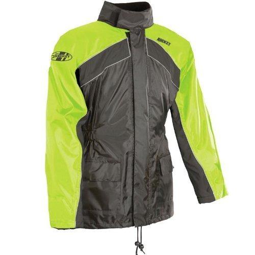 Joe Rocket Mens Rainwear RS-2 Rain Suit Large Hi-Viz Yellow