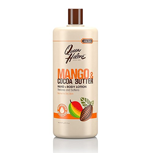 (Queen Helene Lotion 32 Ounce Mango & Cocoa Butter Hand & Body (946ml) (2 Pack))