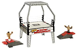 Wwe Rumblers Blastin Breakdown Playset from Mattel