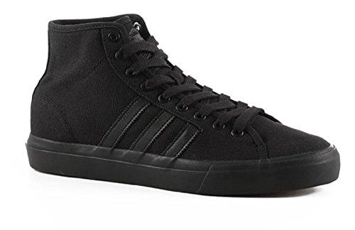 adidas Originals Men's Matchcourt High RX, Black/Black/Black, 10 Medium US