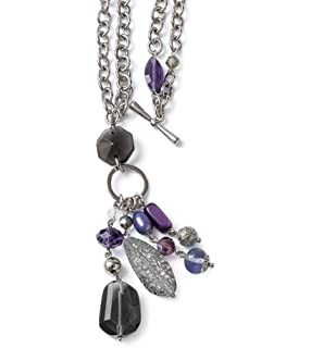 Amazon improv retired lia sophia necklace jewelry violet hour retired lia sophia necklace aloadofball