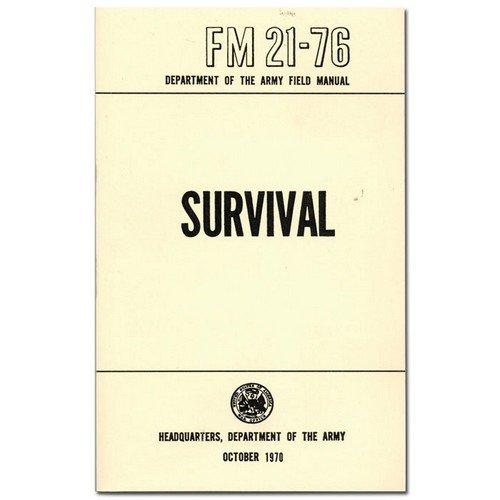 Survival, Evasion & Recovery Multi-Service Field Manual Book