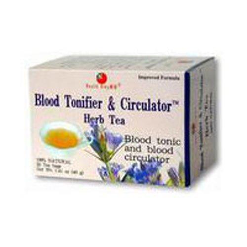 HEALTH KING MEDICINAL TEAS TEA,BLOOD TONER&CIRCULATR, 20 BAG