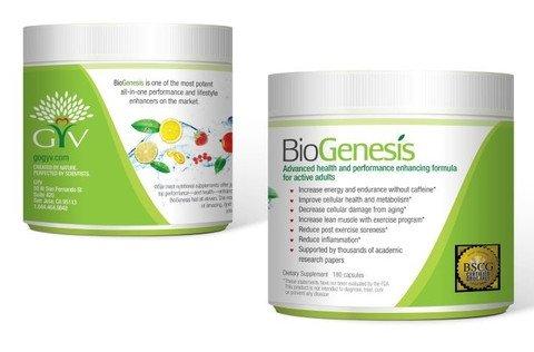 Biogenesis Proanox Dietary Supplement All In 1 Performance Enhancer 180 Capsules