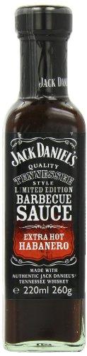 Jack Daniel's BBQ Sauce Extra Hot Habanero LIMITED EDITION 260g - eine feurig, scharfe BBQ Sauce