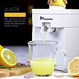 MYONAZ Electric Citrus Squeezer Manual for Fresh