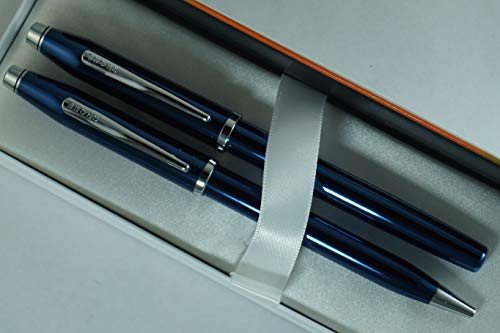 Cross Century II Limited Series, Pearlescent Metallic Blue selectip Gel Ink Rollerball Pen and Ballpoint Pen. by A.T. Cross (Image #1)