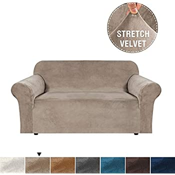 Amazon.com: H.VERSAILTEX Real Velvet Plush Sofa Cover, Couch ...