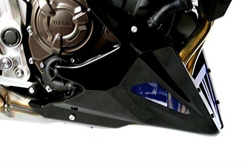Powerbronze - Quilla para Yamaha MT-07 14 –  15/XSR700 16, Color Carbono y Plateado
