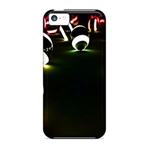 Durable Protector Cases Covers With Neon Hot Design For Iphone 5c