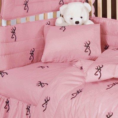 Buckmark 2 Piece Crib Bedding Set](Camo Baby Furniture)