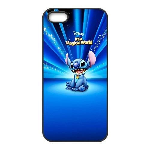 Disney Lilo et Stitch JK95TH7 coque iPhone 5 5s cellulaire cas de téléphone coque E9SO7I4KI