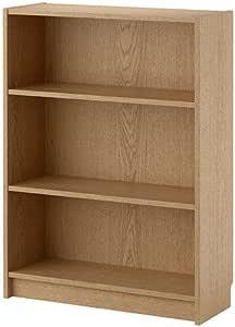 IKEA BILLY - Librero, chapa de roble - 80x28x106 cm
