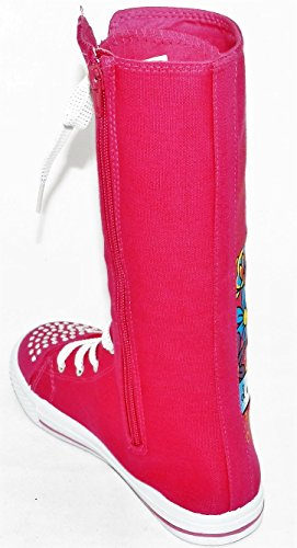 1 Girls Dancing Sneakers Canvas Dev Shoes New Punk Classic Fuchsia Tall Going 10 Consider 3 Boot Skate Kids up Size rxRrqzp