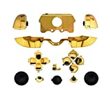 Gotor Plating Bumper Trigger Button Set Case Cover for Xbox One Controller gold colour
