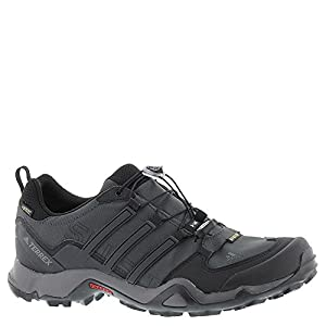 adidas outdoor Men's Terrex Swift R GTX Dark Grey/Black/Granite Hiking Shoes - 11 D(M) US