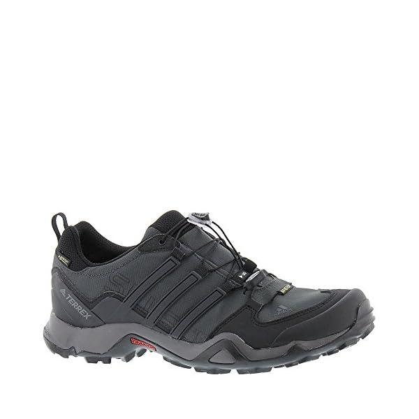 adidas outdoor Men's Terrex Swift R GTX Dark Grey/Black/Granite Hiking Shoes - 11 D(M) US