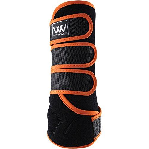 Woof Wear Dressage Exercise Wrap Large Black Orange by WOOF WEAR