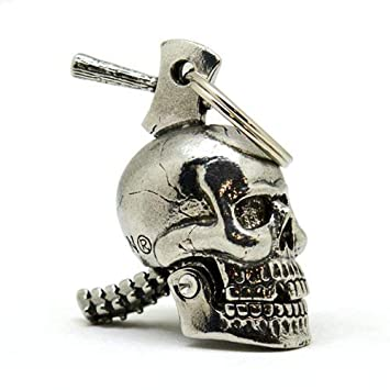 Amazon.com: Guardian Bell - calavera grande machacada para ...