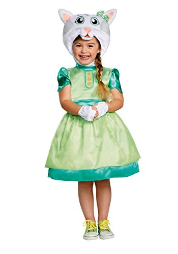 Daniel Tiger's Neighborhood Katerina Kittycat Deluxe Toddler Costume, One Color, 4-6X]()