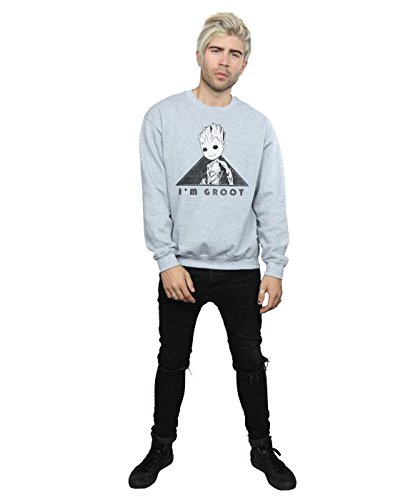 Mono shirt Vol 2 Guardians The Homme Of Groot Sport Sweat Triangle Gris Marvel Galaxy 8Paq4AWW