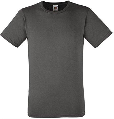Ltd claro hombre corta gris Absab manga grafito Camiseta BFwxYazna