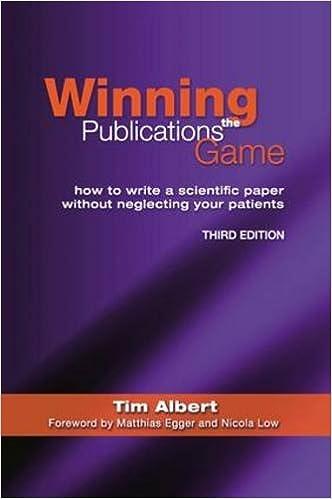 Write a publications