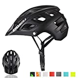 Exclusky Mountain Bike Helmet MTB Bicycle Cycling Helmets for Adult Women and Men CPSC Certified