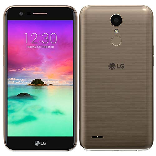 LG K10 2017 4G LTE Unlocked Dual Sim M250dsF Octa Core 16GB Android 7.0 13MP USA Latin & Caribbean Bands International Version (Gold) from LG