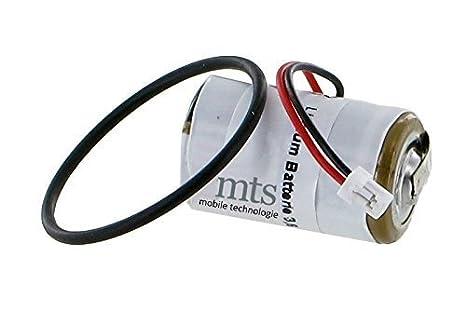 Batería de litio 3,6vV para DOM PROTECTOR cilindro de la cerradura/Unidad De Cerradura incluye anillo o: Amazon.es: Informática