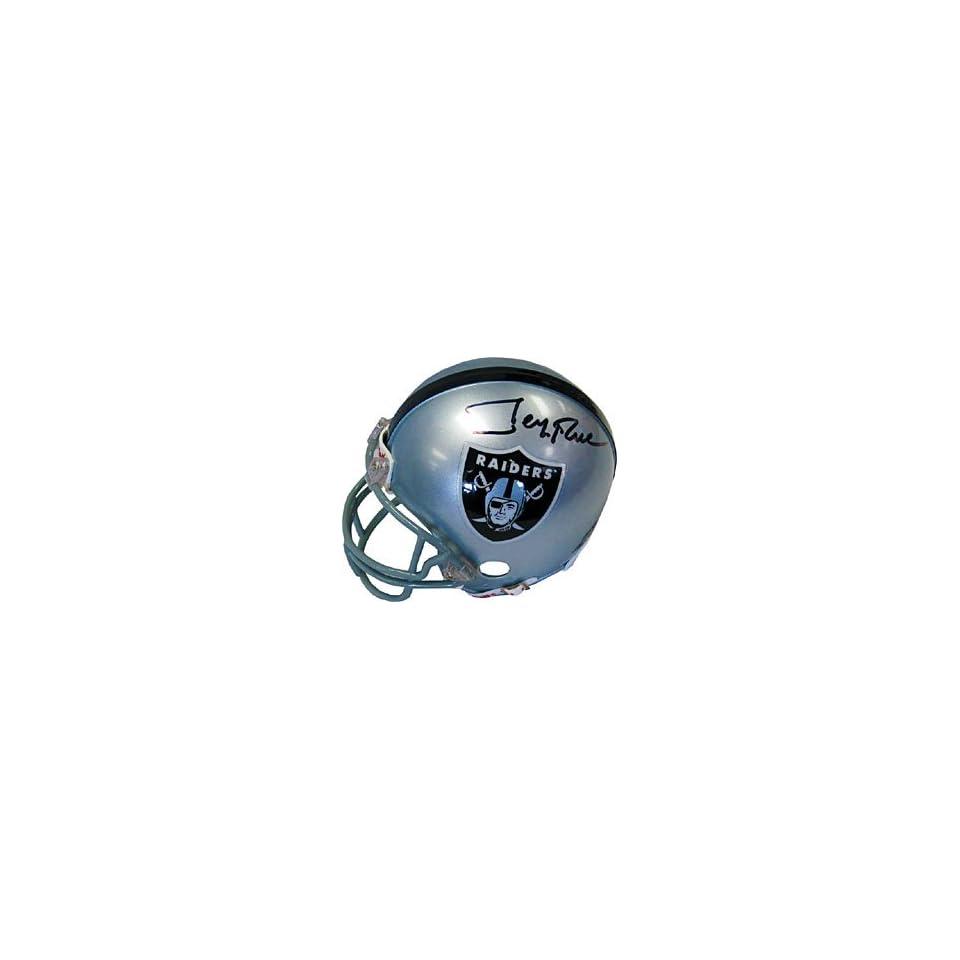 Jerry Rice Autographed / Signed Oakland Raiders Mini Helmet