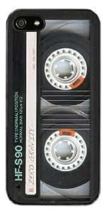 ZERO GRAVITY Retro Cassette iPhone 5c Case - Retail Packaging - Black