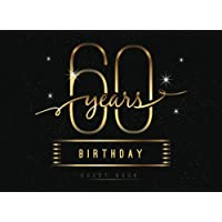60th Birthday Guest Book: 60 Years Anniversary Party Guest Book Keepsake Birthday Gift for Wishes & Free Gift Log For Thank You After Party.