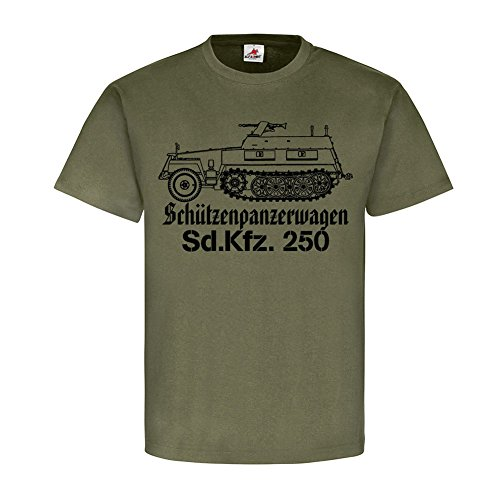Half Track Tank - SdKfz 250 armored personnel German half track tank car reconnaissance units