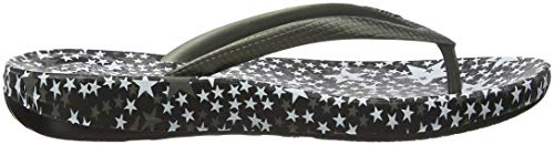 pewter Punta Abierta Para Con Sandalias Celestial Iqushion Plateado Mujer 054 Fitflop nw7qP6I