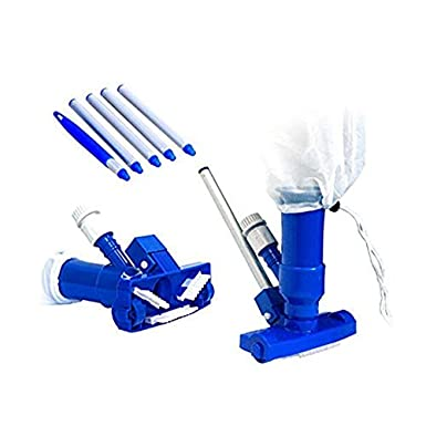 aspiradora precisa para piscina Aspirador subacu/ático Mini Jet con juego de manijas de cabeza de cepillo de bolsa de malla Aspiradora de piscina