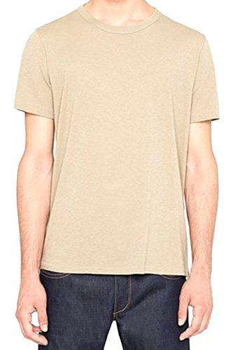Rag & Bone Perfect Jersey Tee - Timberwolf Brown Size L MSRP $80