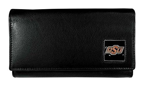 Oklahoma St. Cowboys Women's Leather Wallet