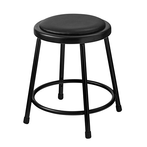 National Public Seating 24 Inch Stool - National Public Seating Stool with Padded Seat