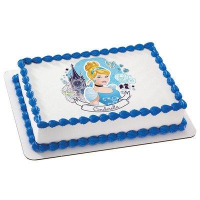 Cinderella Edible Icing Image Cake Topper 8