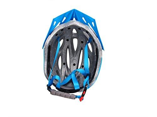 JxucTo M/änner Frauen Einteilige Helm Bel/üftung Fahrradhelm Por/öse Berg Fahrradhelm Schwarz + Wei/ß