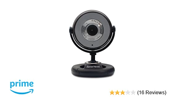 Amazon. Com: gear head usb 2. 0 1. 3 mp webcam pro with snapshot and.
