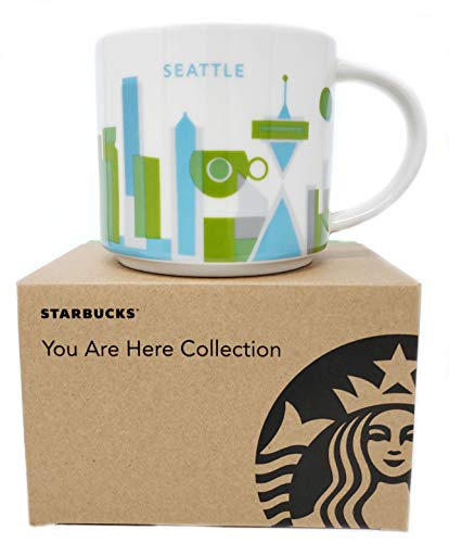 Starbucks 2013 You Are Here Collection, Seattle Mug 14 oz