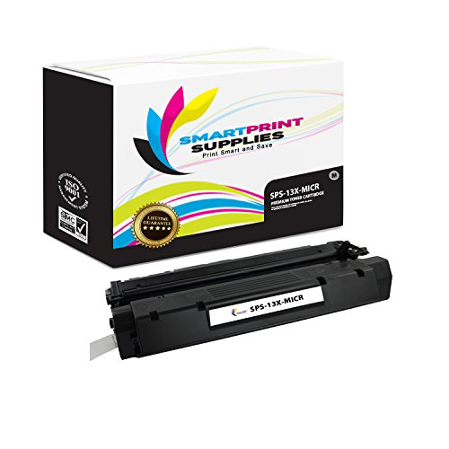 Smart Print Supplies Compatible 13X Q2613X MICR Black High Yield Toner Cartridge Replacement for HP Laserjet 1300 Printers (4,000 Pages)