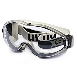 Fashion Bicycle dustproof and Windproof Sand-Proof Glasses Anti-Shock Protective Glasses, Anti-Chemical Goggles, Retro (Color : Gray)