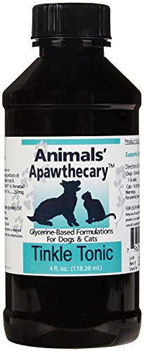 Animal Essentials, Inc Apawthecary Herbal Tincture Tinkle Tonic, 4 fl oz.