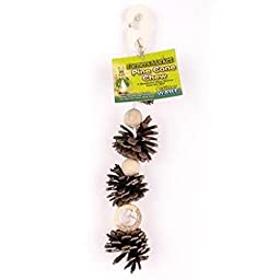 Ware Natural Hanging Pine Cone Chew