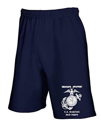 Tuta Blu Pantaloncini T0331 shirtshock Navy Military Marines T gqZwBxc