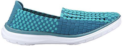 Rockport Cobb Hill Mujeres Wise Ch Flat Teal / Multi