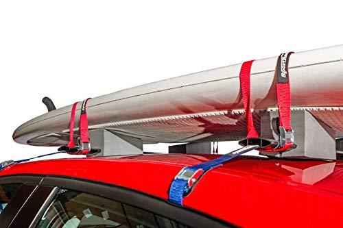 SportRack SR5527 Adjustable Foam Kayak Carrier, 24-Inch, Black
